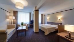 Pokoj w hotelu Marena z dwuosobowym łóżkiem